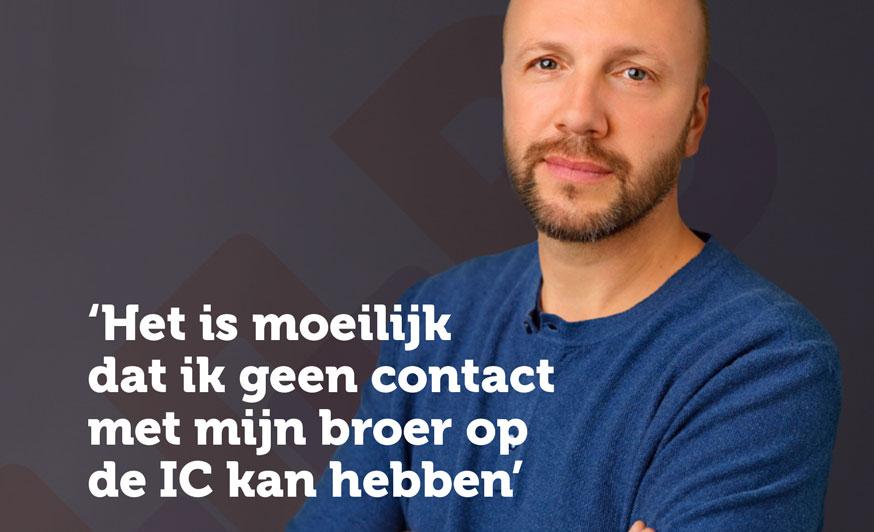 Slachtofferhulp Nederland Staat Naasten Van IC-patiënten Bij