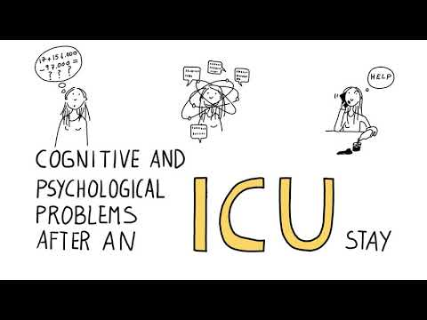 Nieuwe Engelstalige Video: Cognitive And Psychological Problems After An ICU Stay